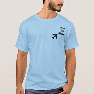 Camiseta 30 no piloto de 7 linhas aéreas