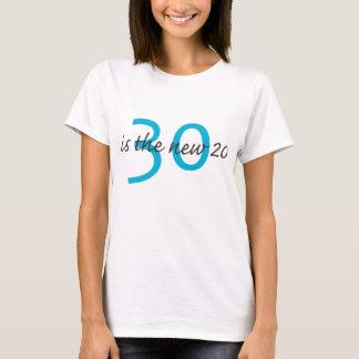 Camiseta 30 são os 20 NOVOS