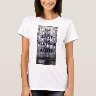 Camiseta 314 9os St2 do leste, EAST VILLAGE 4-LIFE