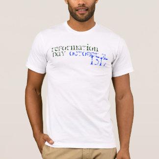 Camiseta 31 de outubro de 1517, reforma, dia