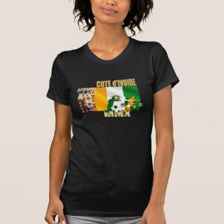 Camiseta 32 presentes do d'Ivoire da costa da Costa do