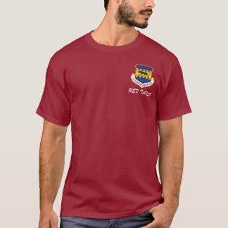 "Camiseta 332d lutador ""T longo da luva das caudas"
