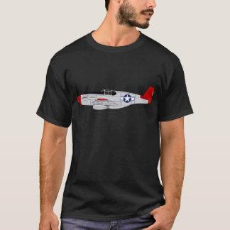 Camiseta 332nd Grupo do lutador - caudas vermelhas -