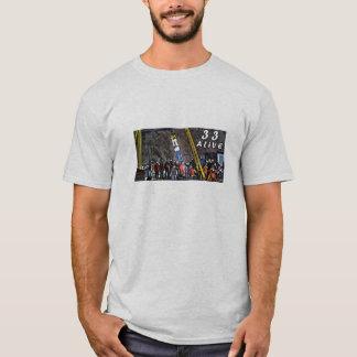 Camiseta 33 sobreviventes do Chile