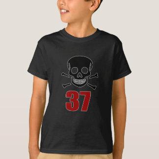 Camiseta 37 designs do aniversário