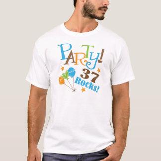 Camiseta 37th Ideias do presente de aniversário