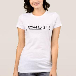 Camiseta 3:16 de John - Redeemed pelo amor