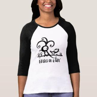 Camiseta 3/4 de luva Swagalicious
