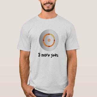 Camiseta 3 mais anos