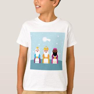 Camiseta 3 reis pintados mão