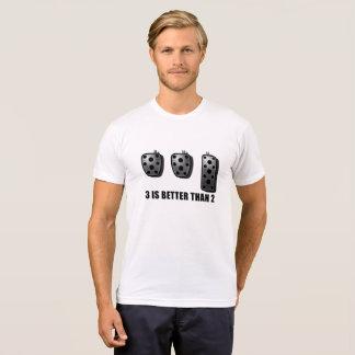 Camiseta 3 são melhores de 2