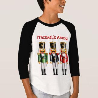 Camiseta 3 soldados de brinquedo do Nutcracker do Natal
