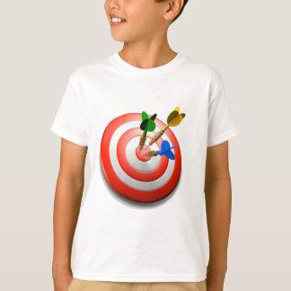 Camiseta 3D arremessa o BullsEYE Childs T