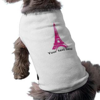Camiseta 3d torre Eiffel, clipart de France