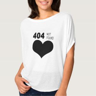 Camiseta 404 não encontrado
