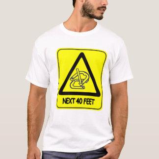 Camiseta 40' básico T das ferraduras