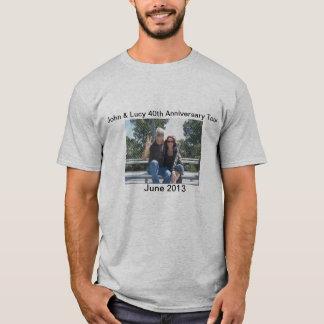 Camiseta 40th Excursão do aniversário