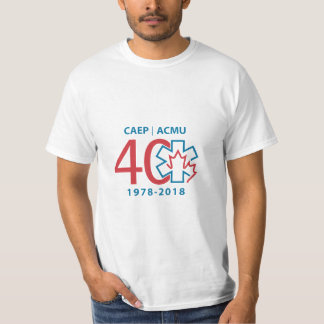 Camiseta 40th O t-shirt dos homens da edição limitada do