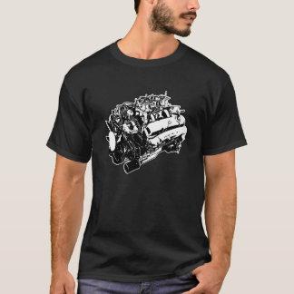 Camiseta 440 seis pretos do bloco