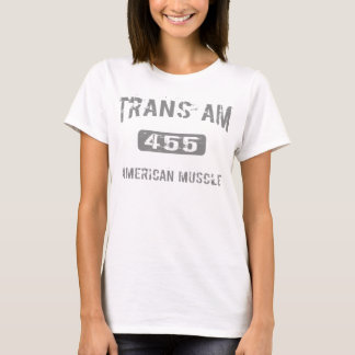 Camiseta 455 roupa do transporte Am