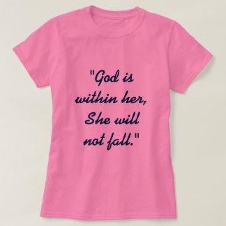 Camiseta 46:5 do salmo