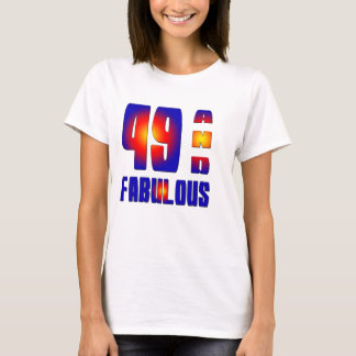 Camiseta 49 e fabuloso