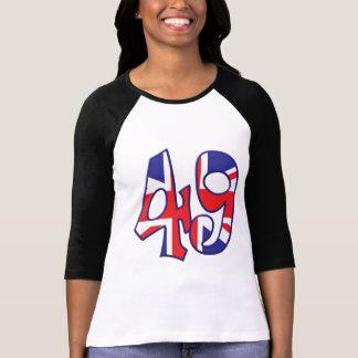 Camiseta 49 idade Reino Unido