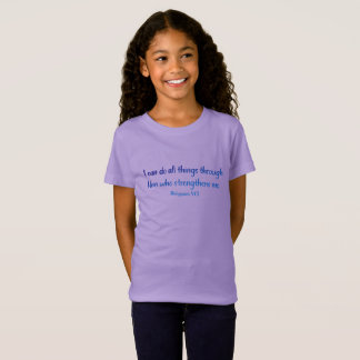 Camiseta 4:13 dos Philippians - eu posso fazer toda a