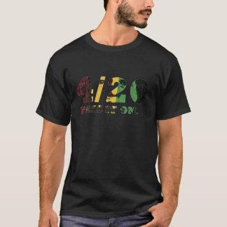 Camiseta 4/20 de passagem em….