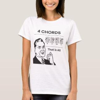 Camiseta 4 cordas