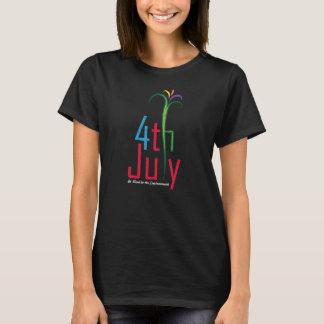 Camiseta 4 de julho consciência ambiental do Dia da