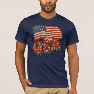 Camiseta 4o de t-shirt de julho EUA