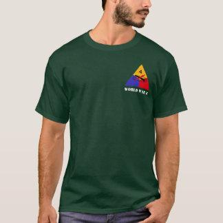 Camiseta 4o T da divisão blindada