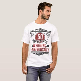 CAMISETA 50 ANOS DE ANIVERSÁRIO DE CASAMENTO, 50 ANOS, 50