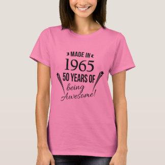 Camiseta 50 anos de ser t-shirt impressionante