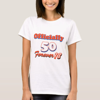 Camiseta 50 anos velho e ainda ágil