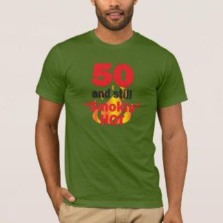 Camiseta 50 anos velho e ainda Smokin quente - 50th