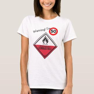 Camiseta 50th aniversário engraçado seus resplendores
