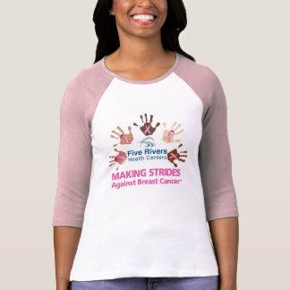Camiseta 545Rivers - T do Raglan das mulheres