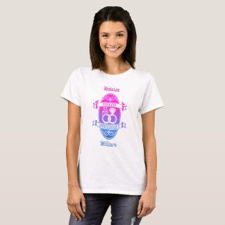 Camiseta 55 aniversário tradicional da esmeralda 55th do