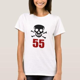 Camiseta 55 designs do aniversário