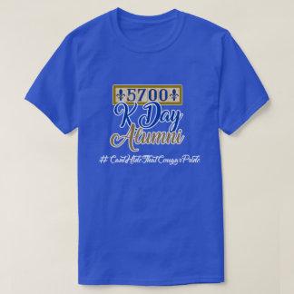 Camiseta 5700 alunos de Kennedy - azuis marinhos