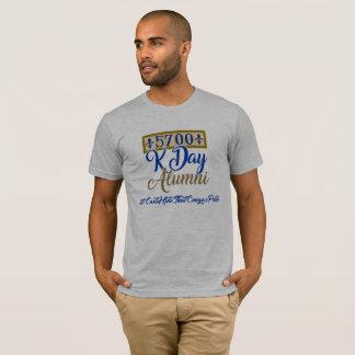Camiseta 5700 alunos de Kennedy - cinza