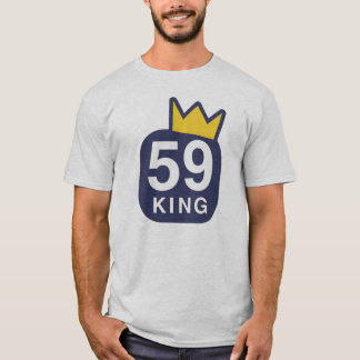 Camiseta 59 rei T-shirt (cinza)