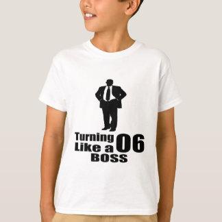 """Camiseta """"5 anos""""de """"aniversário de da engrenagem"""