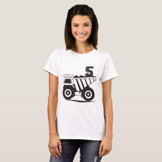 Camiseta 5o bithday para t-shirt do filho