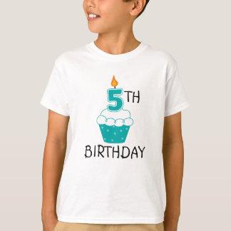Camiseta 5o O aniversário caçoa o t-shirt
