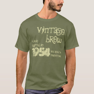 Camiseta 60th Fermentação 1954 do vintage do presente de