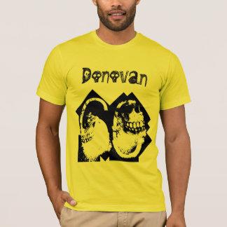 Camiseta 60th Número do crânio do gótico do aniversário e