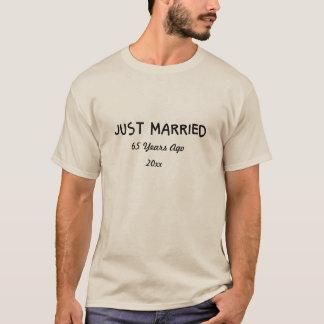 Camiseta 65th engraçado e romântico ou ALGUM aniversário do